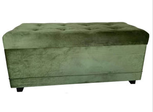Ottoman - Anderton upholstered storage bench