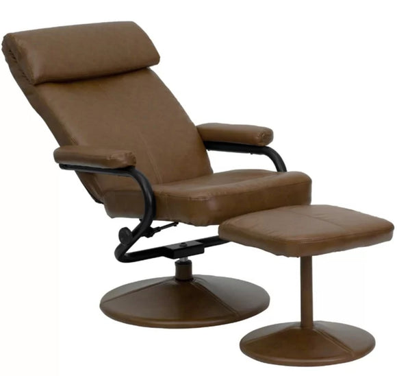 Chair - Weinstein reclining chair and ottoman