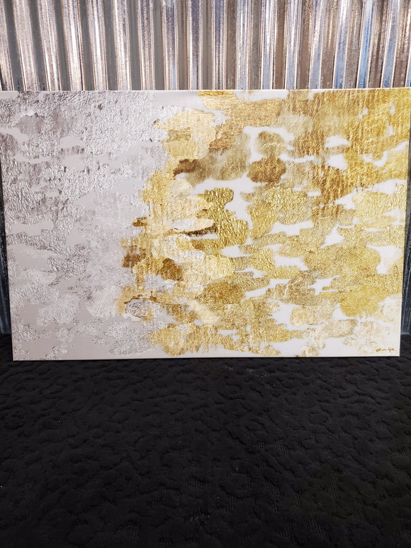 Art - Gold/Silver Oliver Gal 45x30