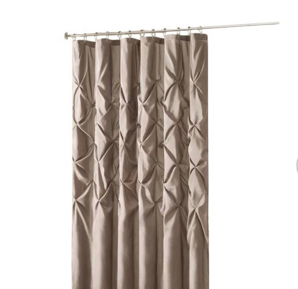 Shower Curtain- Benjamin  78x54 Taupe