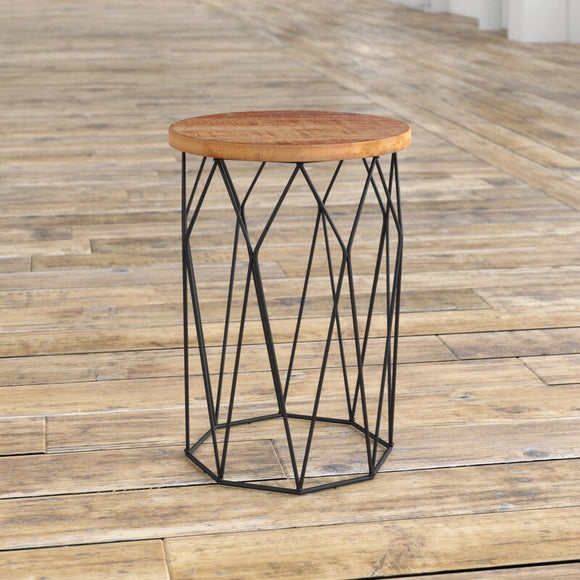 Ahart Drum End Table