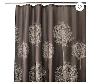 Shower Curtain Dandelion 72x84