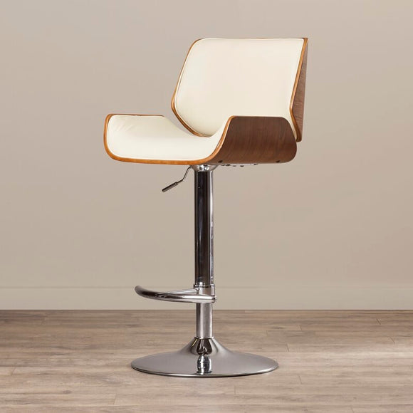 Stool - 1 Adjustable Height Swivel Bar Stool