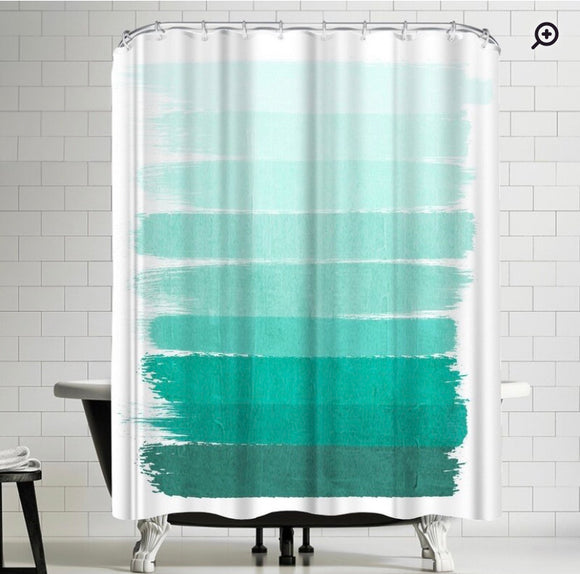 Shower curtain Ombre