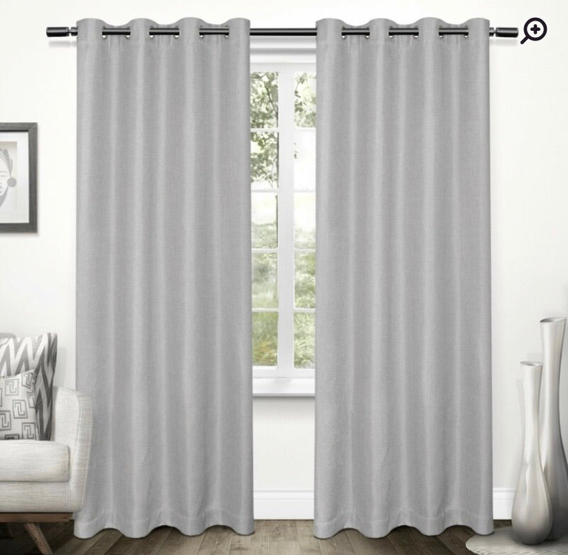 Curtains- Stanton Solid Color Blackout Thermal Grommet