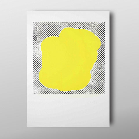 Black Dot with Yellow by Eoin McCormack