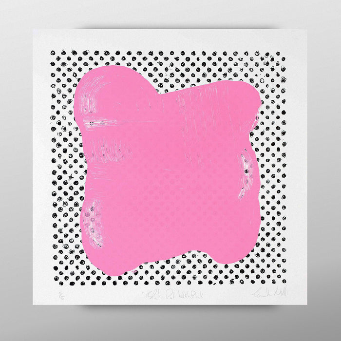 Black Dot with Pink by Eoin McCormack