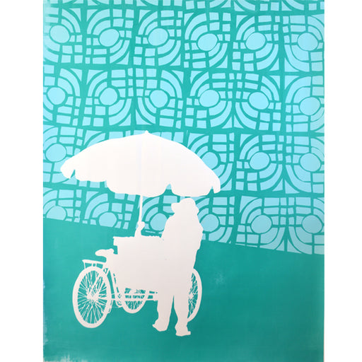 'Umbrella 02' Limited Edition Screen Print