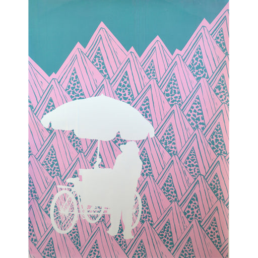 'Umbrella 04' Limited Edition Screen Print