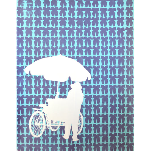 'Umbrella 05' Limited Edition Screen Print