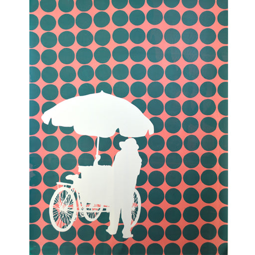 'Umbrella 06' Limited Edition Screen Print