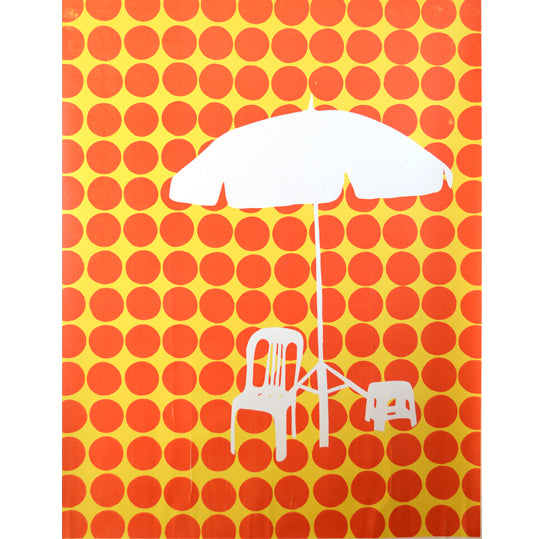 'Umbrella 07' Limited Edition Screen Print