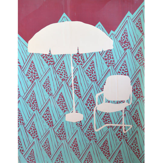 'Umbrella 09' Limited Edition Screen Print
