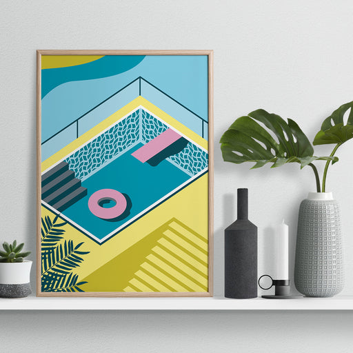 Graphic Pool Print