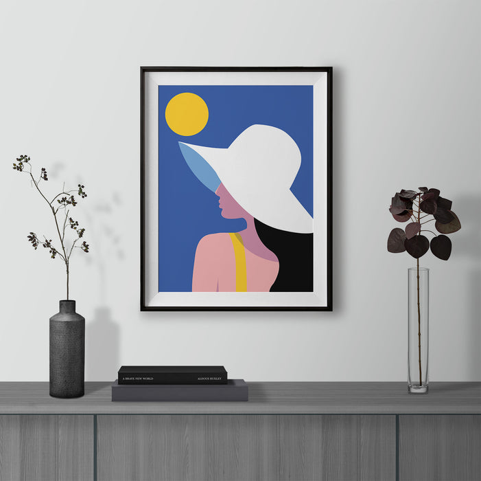 Summer Hat Fine Art Print