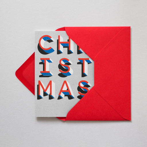 Christmas Risograph Card