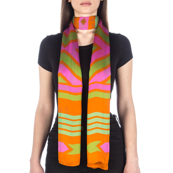 Aztec Scarf by Katy Binks