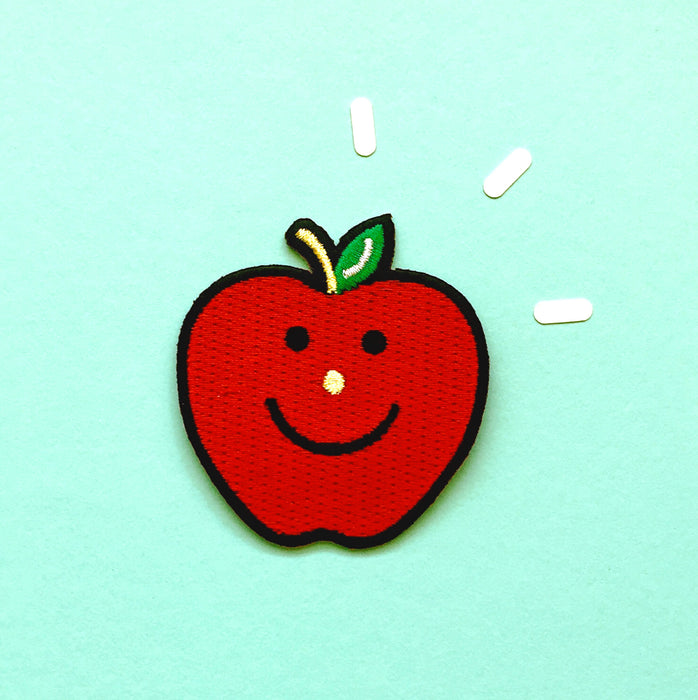 Iron On Apple Patch
