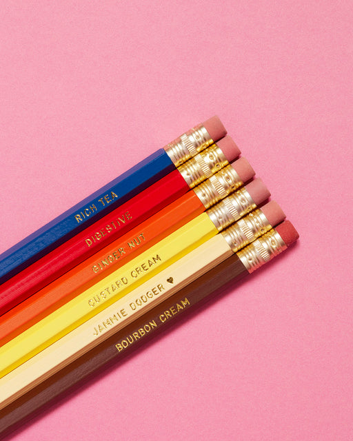 Biscuit Pencils Set No. 1
