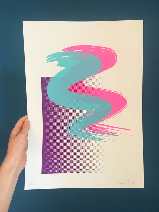 WIGGLE | Limited Edition Screen Print