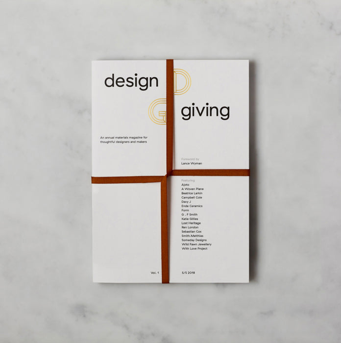 Design Giving Book – Limited Edition