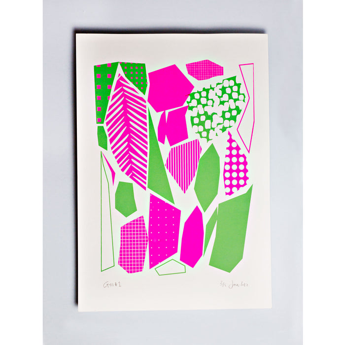 Geo #1 Limited Edition Screen Print