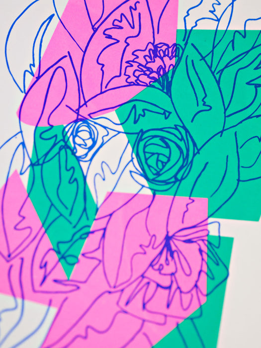 Floral #3 Limited Edition Screen Print