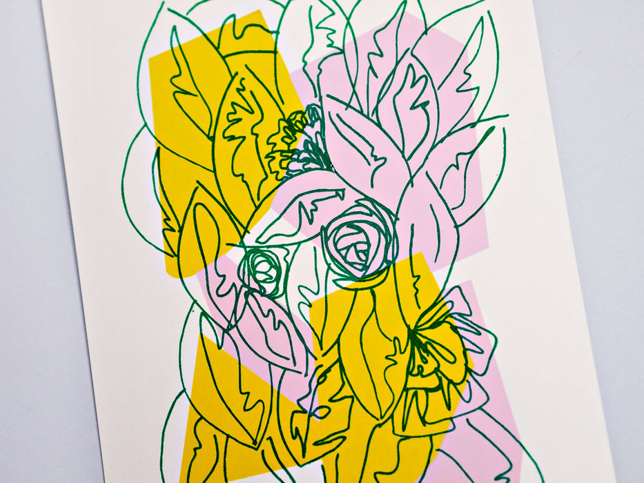 Floral #2 Limited Edition Screen Print