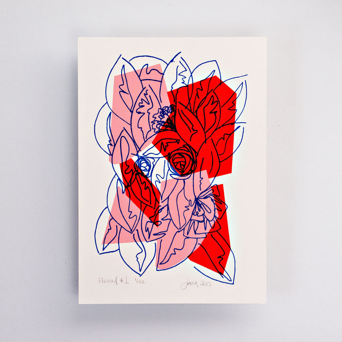 Floral #1 Limited Edition Screen Print