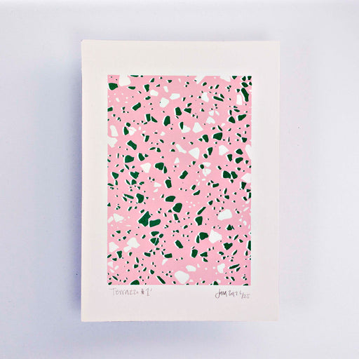 Terrazzo #1 Limited Edition Screen Print