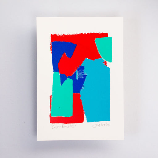 Colour Block #2 Limited Edition Screen Print