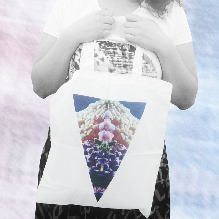 TRINITY Tote Bag / Glitch / Future Street