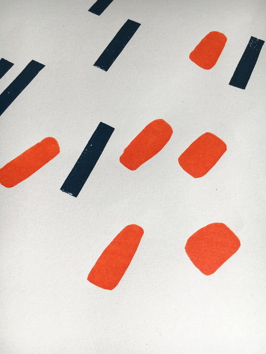 Dot & Dash Limited Edition Original Screen Print