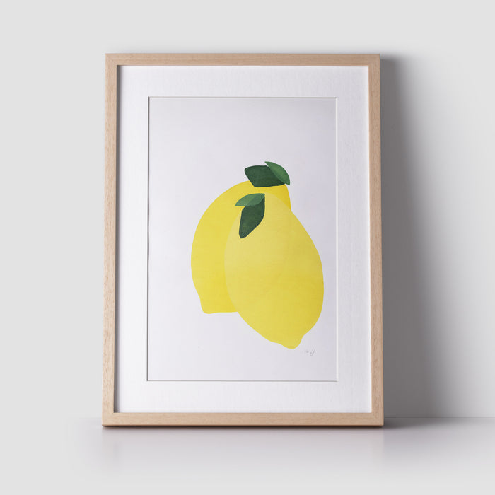 Lemons Limited Edition Original Screen Print