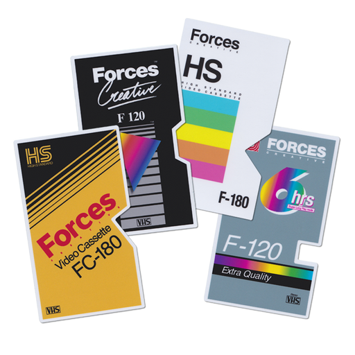 Forces Creative VHS Sticker Pack