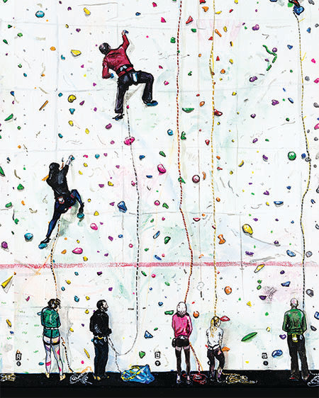 Spot Me - Climbing at Ratho