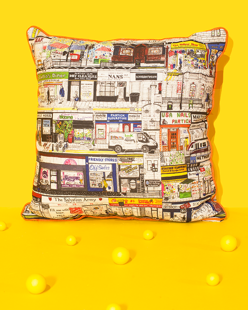Shopfront Cushion Cover