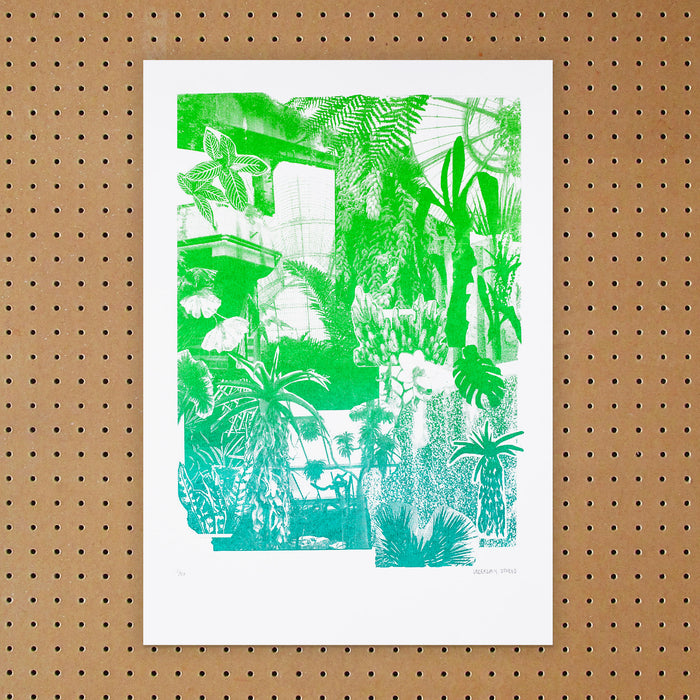 """ Foliages "" Screen Print by Underway Studio"