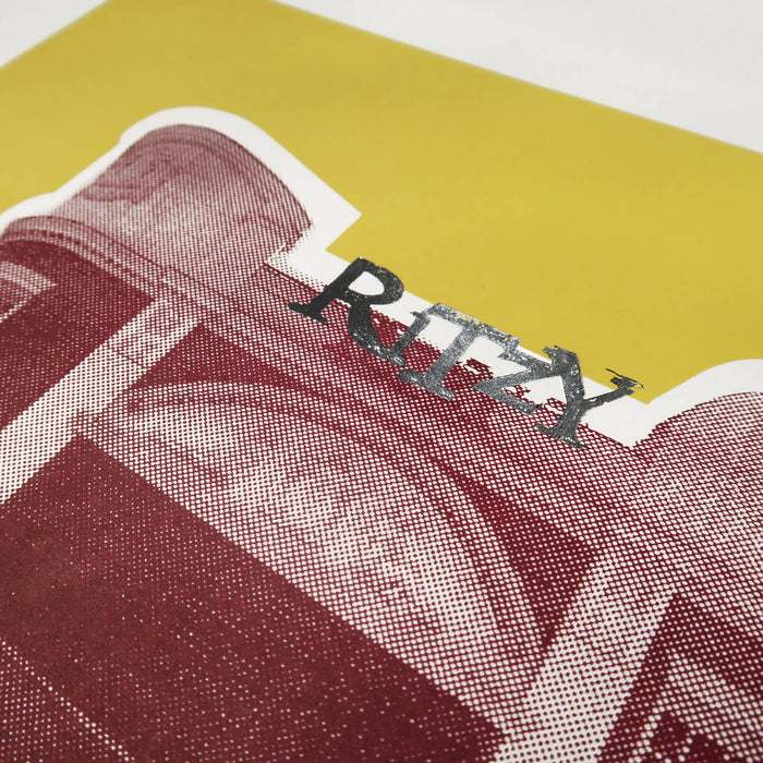 """ Glitzy Ritzy "" Screen Print by Anna Schmidt, Underway Studio"