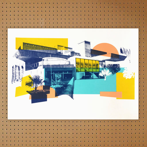 """ Hayward Gallery "" Screen Print by Underway Studio"