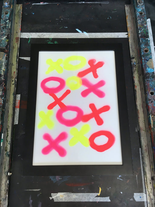 Messy #6 - Spray Paint Print