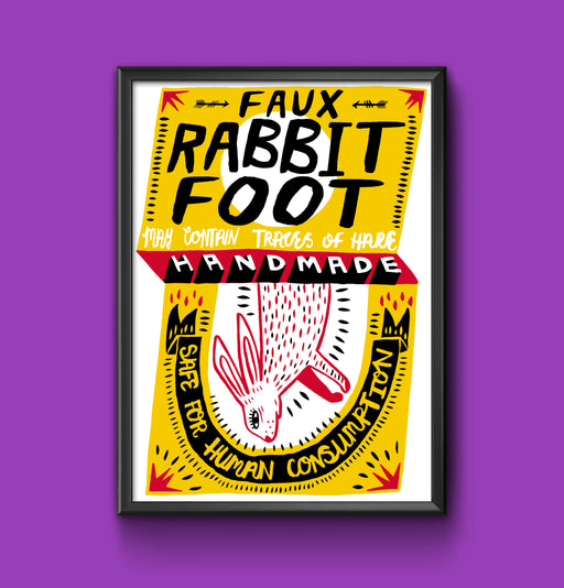 Faux Rabbit Foot