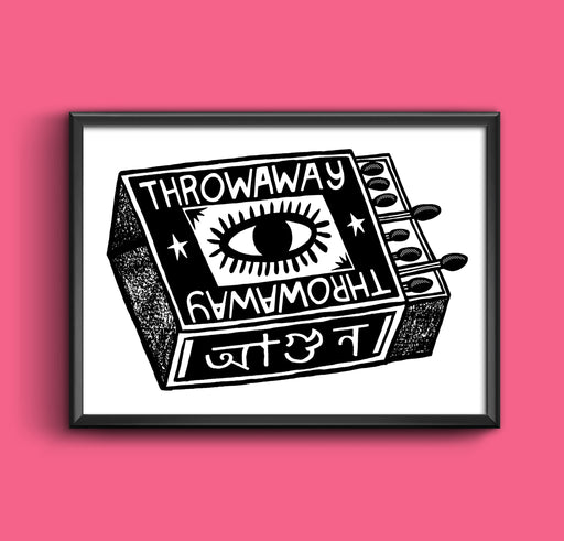 Throwaway Matchbox