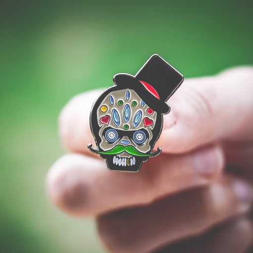 Day of the Dead Enamel Pin Badge