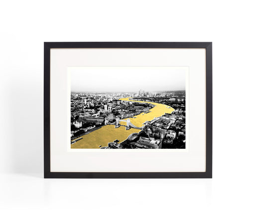 Tower Bridge Gold River Print