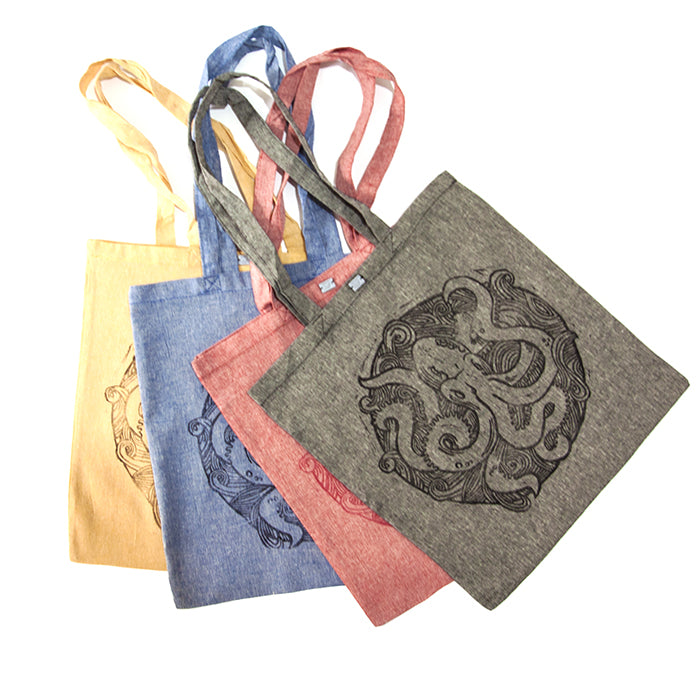 tote bag OCTOPUS- shopper bag