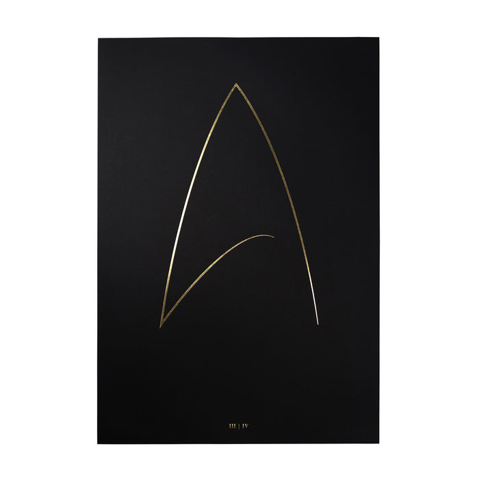 THE FINAL FRONTIER III | IV - Hot Gold Foil Printing