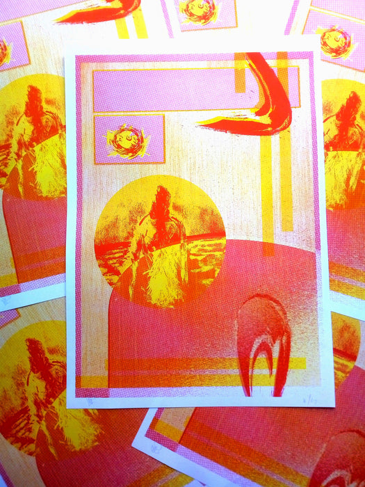 Blast / 2 Colors Risograph