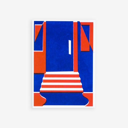 Next Door | Riso Postcard