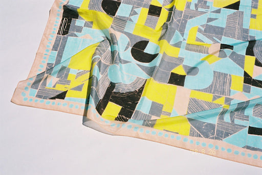 "YUMI YOSHIMOTO scarf 004 "" The holiday factory#"""